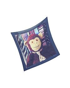 Mr Brown Ties Print Men's Pocket Square