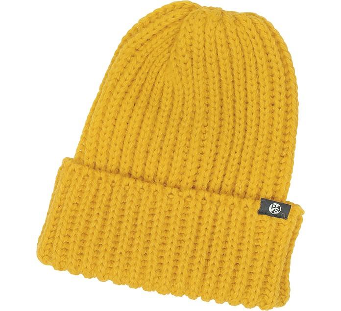 Paul Smith Mustard Yellow Thick Knit British Wool Men s Beanie hat ... 566f42b868d