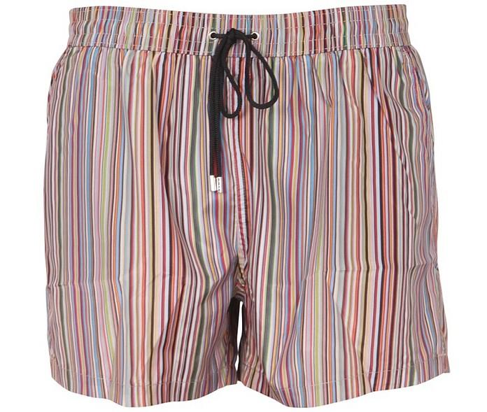 Multicolor Stripes Swimsuit - Paul Smith