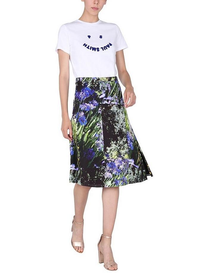 Agapanthus Print Skirt - Paul Smith