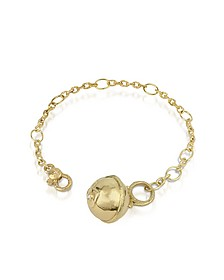 Ball - 18K Gold and Diamond Charm Bracelet - Torrini