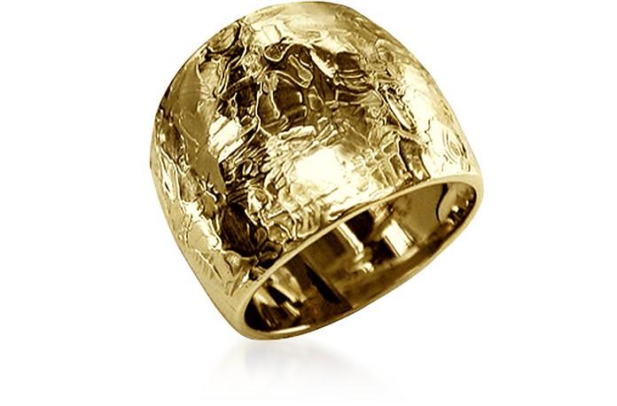 Flamed Yellow Claudine Ring - Torrini