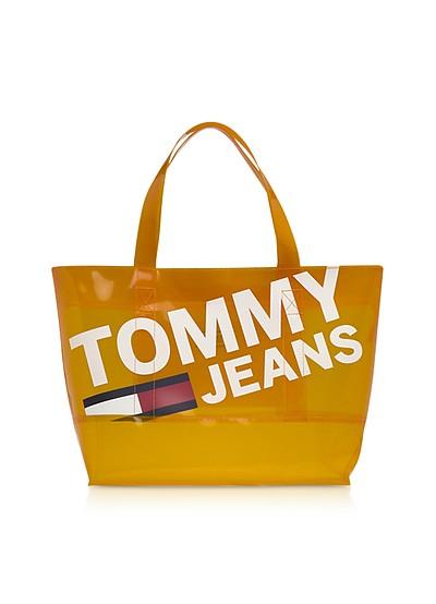 Tommy Transparent Tote Bag - Tommy Hilfiger