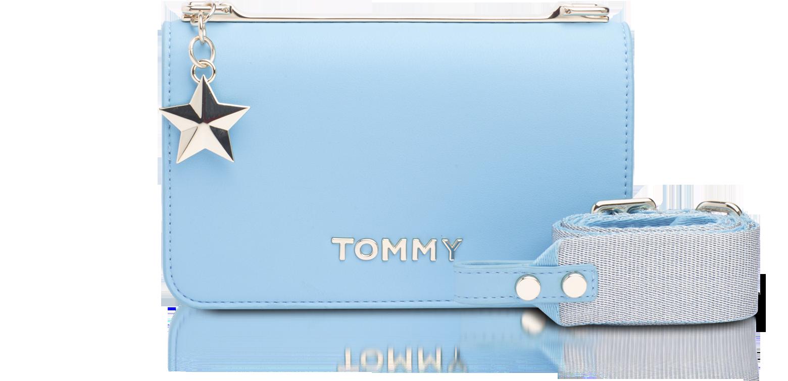 tommy hilfiger crossbody bag blue