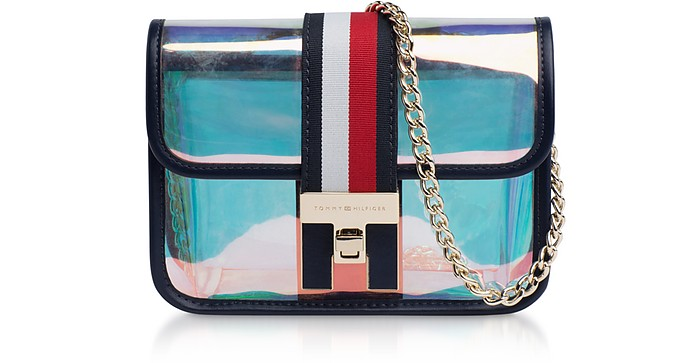 Iridescent The Heritage Mini Crossover Bag - Tommy Hilfiger