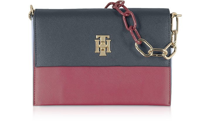 TH Saffiano Crossover Bag - Tommy Hilfiger