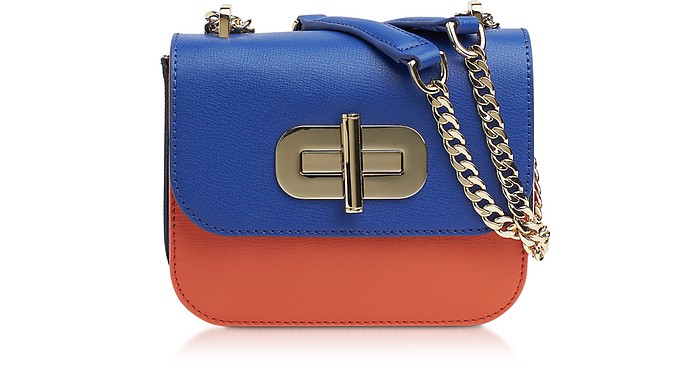 Turn-Lock Mini Borsa con Tracolla in Pelle  - Tommy Hilfiger