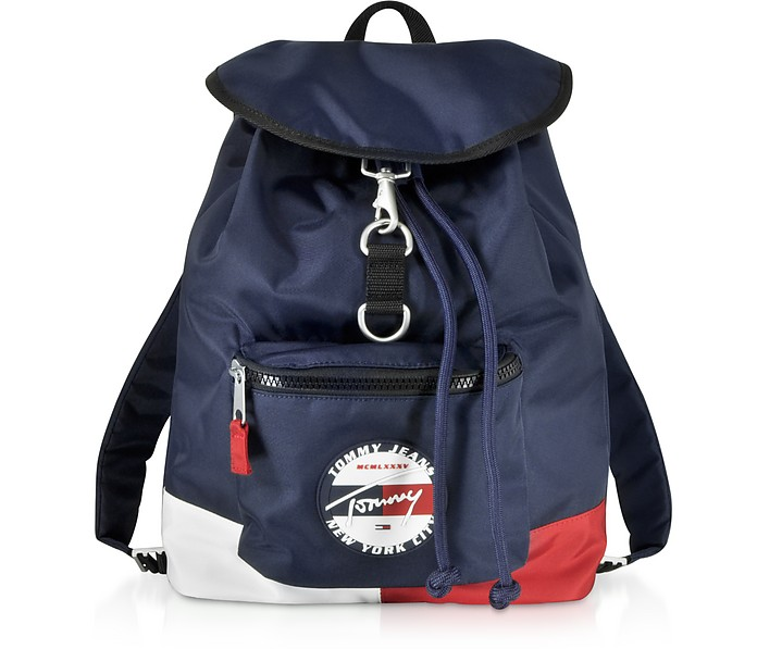 The Heritage Blue Nylon Backpack - Tommy Hilfiger