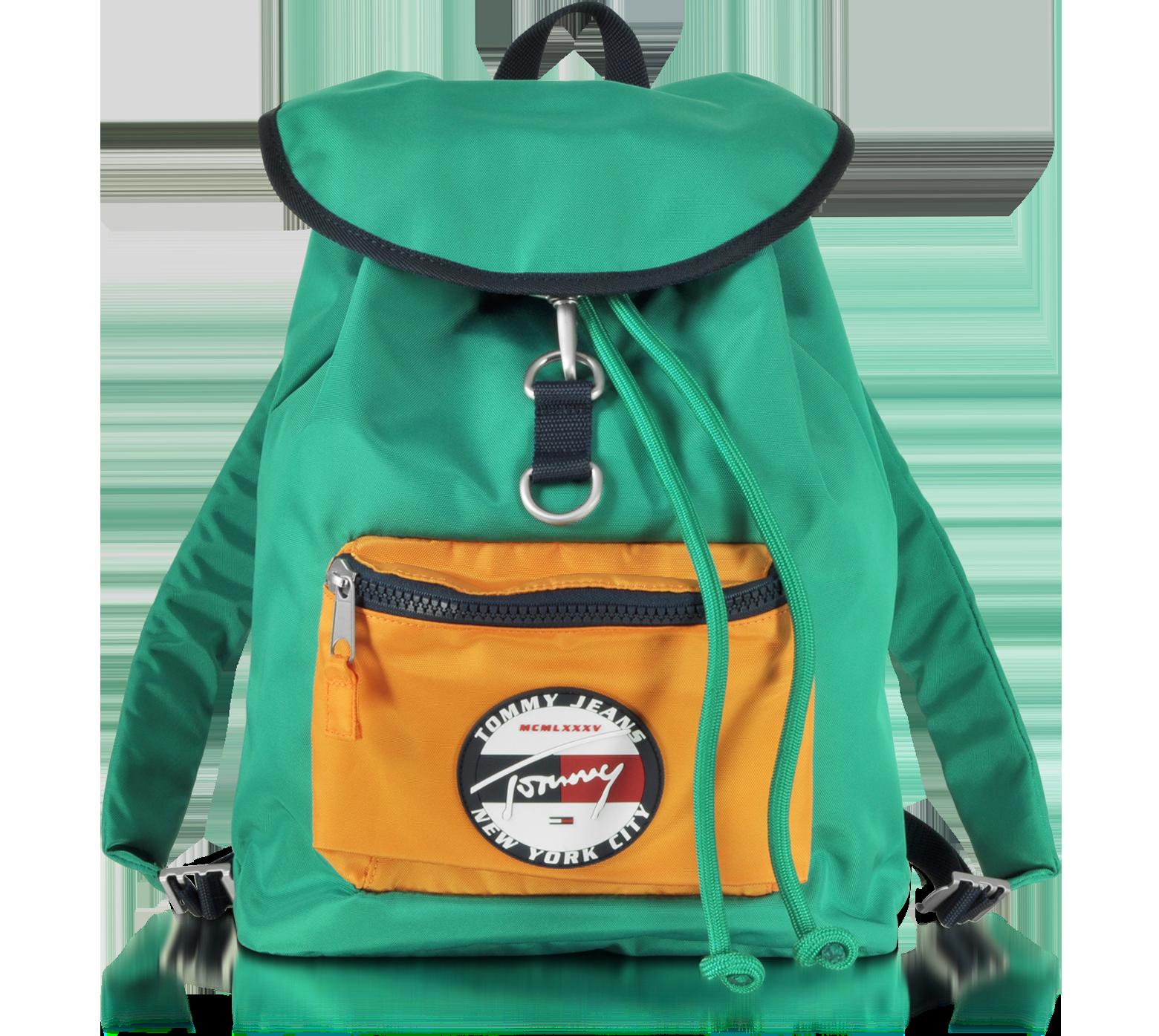 tommy hilfiger green backpack