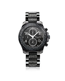Glam Ceramic Women's Chronograph Watch w/Crystals - Thomas Sabo