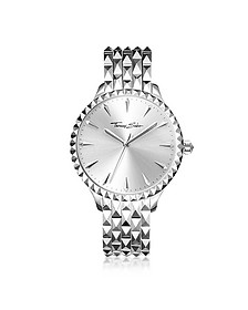 Rebel at Heart Silver Stainless Steel Women's Watch - Thomas Sabo