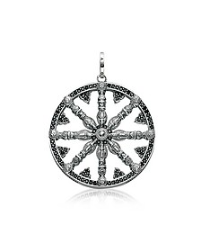 Blackened Sterling Silver Pendant w/Black Cubic Zirconia - Thomas Sabo
