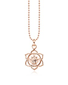 Splenic Chackra Rose Gold Plated  Sterling Silver Necklace w/White Zirconia  - Thomas Sabo