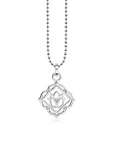 Root Chackra Sterling Silver Necklace w/White Zirconia - Thomas Sabo