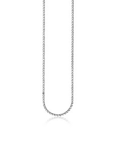 Blackened Sterling Silver Venezia Chain Necklace - Thomas Sabo
