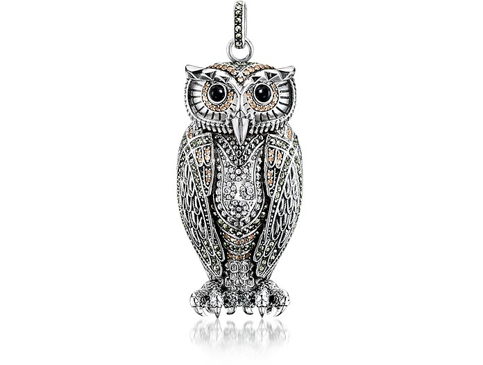 Thomas sabo rebel icon sterling silver owl pendant wcubic zirconia rebel icon sterling silver owl pendant wcubic zirconia thomas sabo mozeypictures Image collections