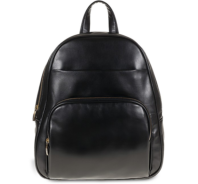 Genuine Leather Backpack w/Front Pocket - Tuscan's