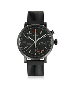 Metropolitan Black Brass Case Men's Watch w/Interchangeable Strap