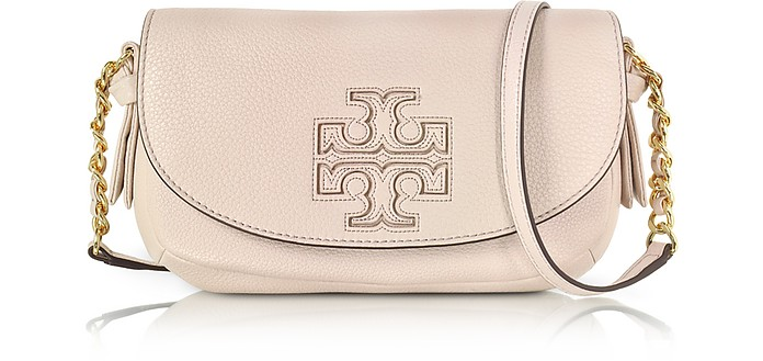 Harper Mini Leather Crossbody Bag - Tory Burch
