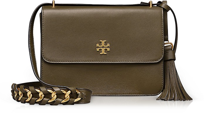 Brooke Leccio Leather Shoulder Bag - Tory Burch