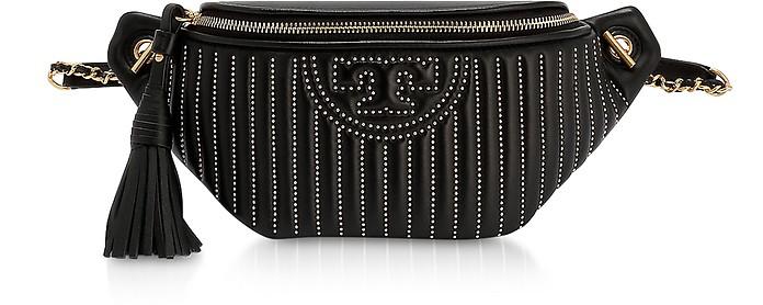 Fleming Mini Studs Black Belt Bag - Tory Burch