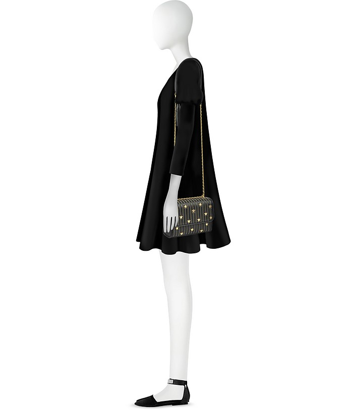 c4d06648bd58 Black Fleming Star Stud Small Convertible Shoulder - Tory Burch. Sold Out