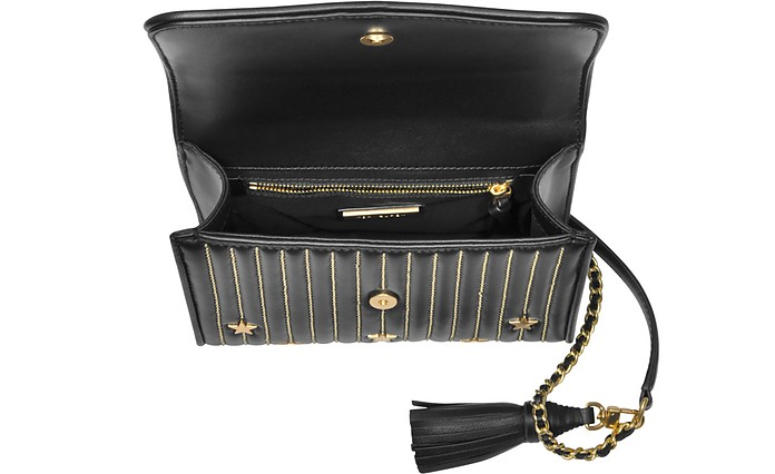 b4efae1611cc Black Fleming Star Stud Small Convertible Shoulder - Tory Burch. Sold Out