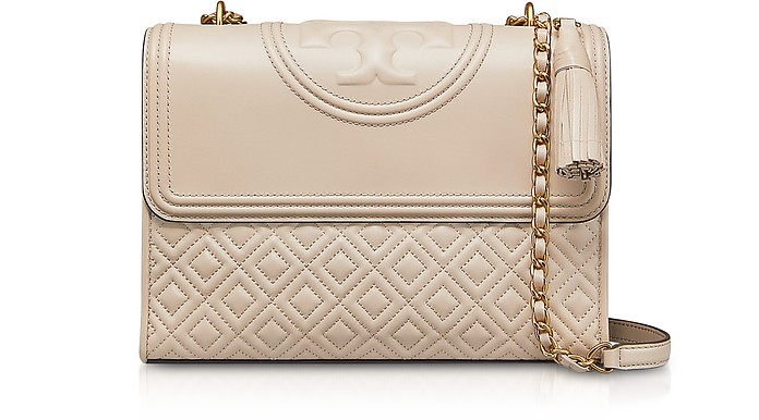 Light Taupe Fleming Convertible Shoulder Bag - Tory Burch / トリー バーチ