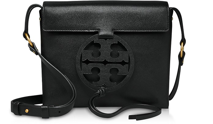 Genuine Leather Miller Cross-Body Bag - Tory Burch