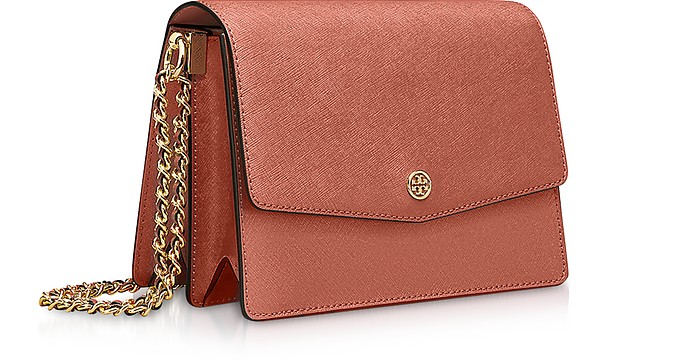 dde552e7131 Tory Burch Sunset Saffiano Leather Robinson Convertible Shoulder Bag at  FORZIERI Australia