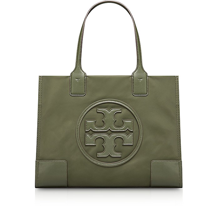 4b53299512af Tory Burch Green Nylon Ella Mini Tote Bag at FORZIERI Australia