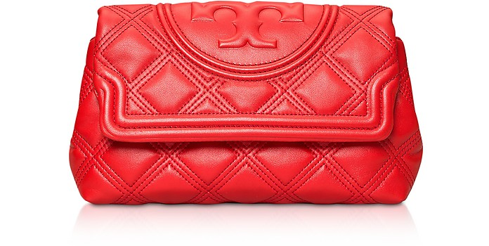 Clutch Fleming in Pelle Matelassé - Tory Burch