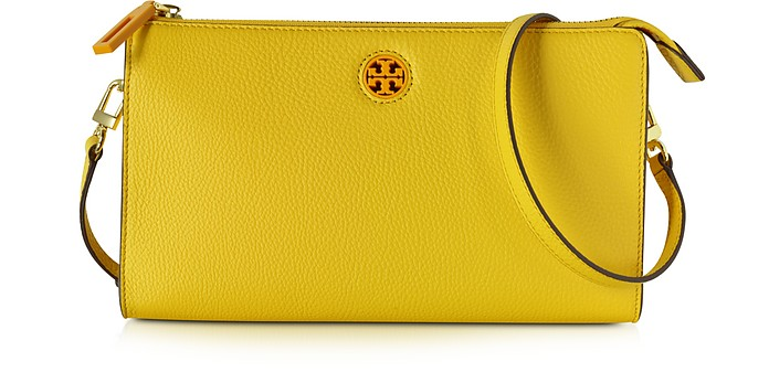 Robinson Pebbled Leather Crossbody Wallet - Tory Burch