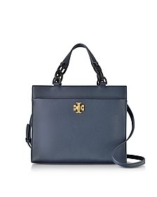 Kira Leather Small Tote Bag - Tory Burch