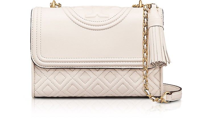 b224672ebf0d Twitter · Pinterest · Share on Tumblr. Fleming Leather Small Convertible  Shoulder Bag - Tory Burch