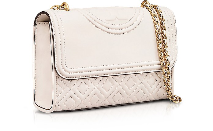 0f606eede4d9 Tory Burch Birch Fleming Leather Small Convertible Shoulder Bag at ...