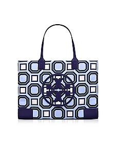 Ella Octagon Square Print Nylon Tote Bag - Tory Burch