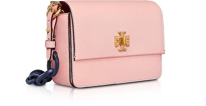 f351cdb532cb Tory Burch Kira Opulent Pink Leather Mini Shoulder Bag at FORZIERI ...