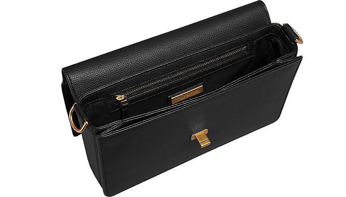 3eefad06ce37 Tory Burch Black Kira Double Strap Shoulder Bag at FORZIERI Australia