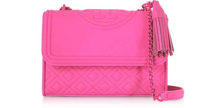 Fleming Borsa Small con Tracolla in Pelle  - Tory Burch