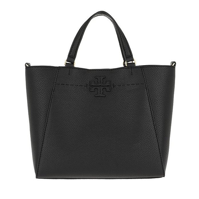 McGraw Carryall Small Black - Tory Burch