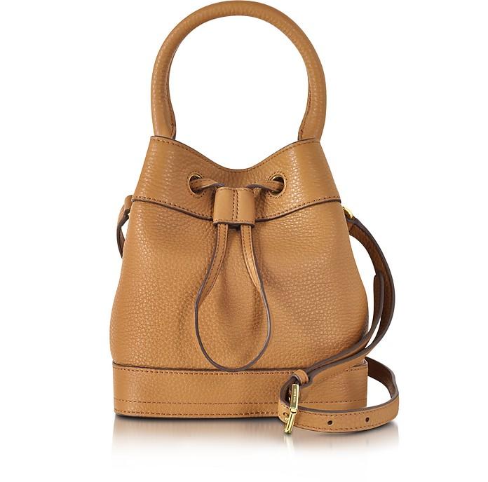 Robinson Mini Pebbled Leather Bucket Bag - Tory Burch