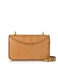 Alexa Aged Vachetta Leather Shoulder Bag - Tory Burch