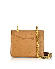 Alexa Aged Vachetta Leather Mini Shoulder Bag - Tory Burch