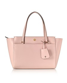 Parker Small Leather Tote Bag - Tory Burch