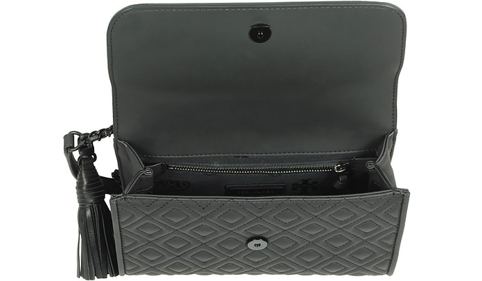 601e498c0c8 Fleming Black Matte Small Convertible Shoulder Bag - Tory Burch. C 695.00 Actual  transaction amount