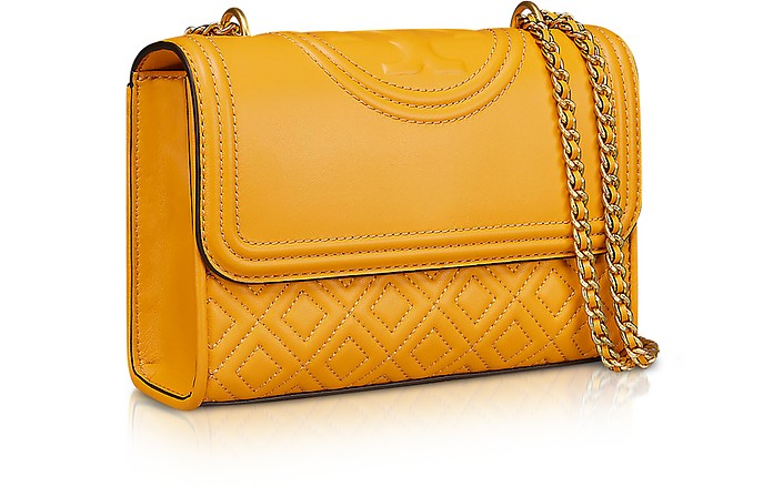 adc678803ddd Twitter · Pinterest · Share on Tumblr. Fleming Quilted Leather Small  Convertible Shoulder Bag - Tory Burch