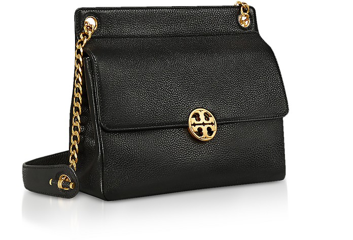 3cb8adaae08c Twitter · Pinterest · Share on Tumblr. Pebbled Leather Chelsea Flap  Shoulder Bag - Tory Burch