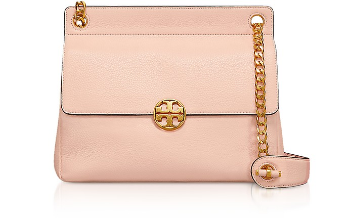 Pebbled Leather Chelsea Flap Shoulder Bag - Tory Burch