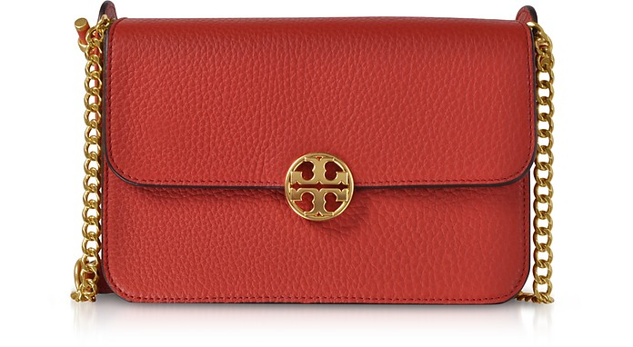 Pebble Leather Chelsea Crossbody Bag - Tory Burch
